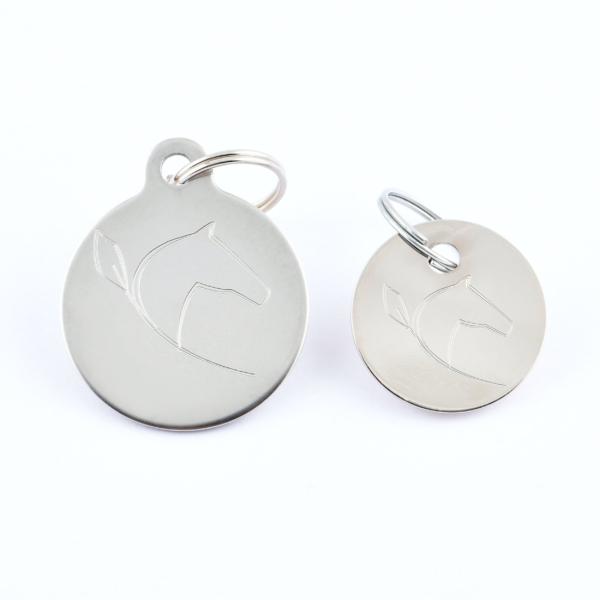 Médailles cheval - Argent