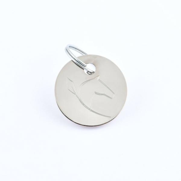 Médaille cheval (petite) - Argent